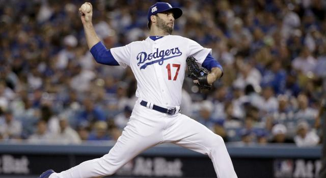 Brandon Morrow became a staple in the Los Angeles Dodgers bullpen in 2017. (Jae C. Hong/AP)