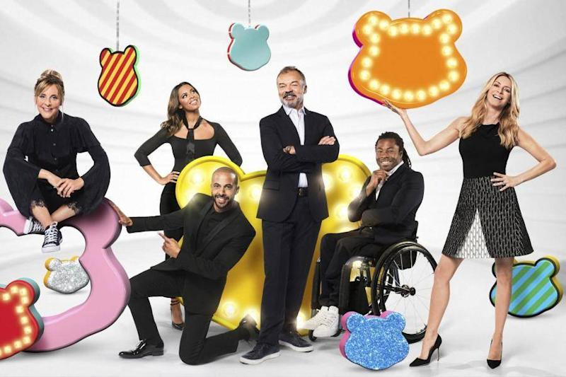The Children in Need hosts for 2017: BBC
