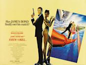 Roger Moore's seventh and final Bond film had one foot in the past, and another in the future, but ended up tripping over itself. (Eon/MGM)