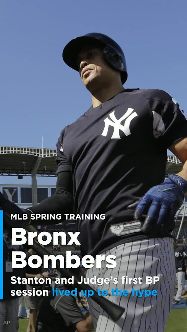 On Monday, we got our first taste of Giancarlo Stanton and Aaron Judge together on the New York Yankees.