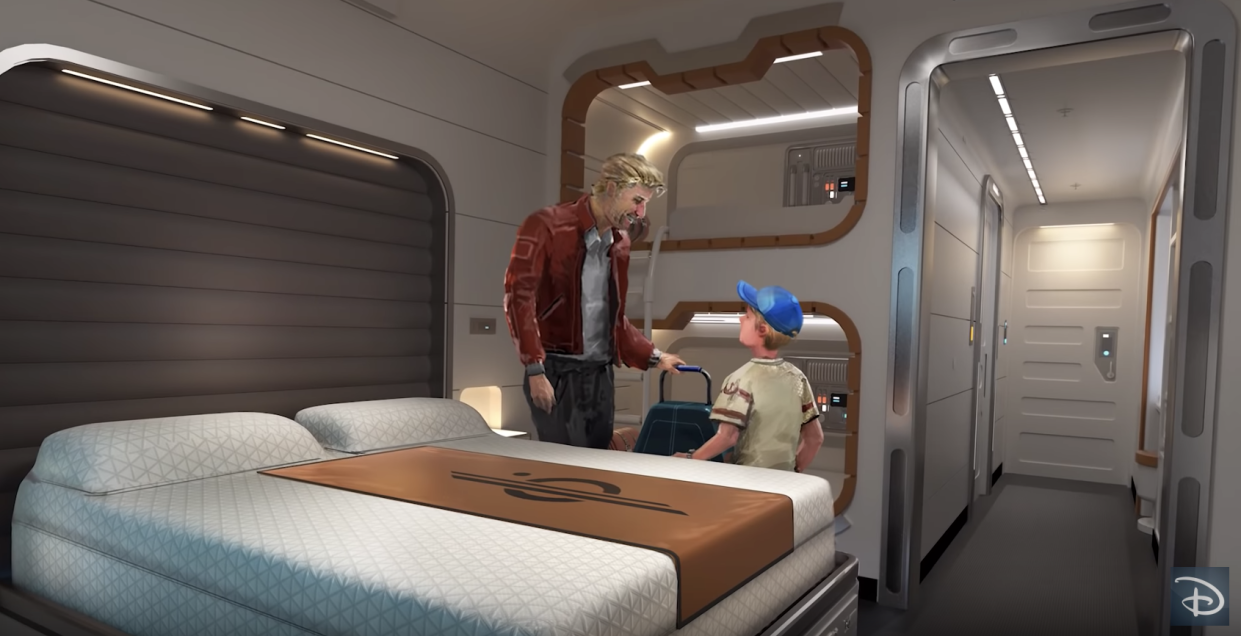 """The Walt Disney World Resort in Orlando will begin taking reservations for the """"Star Wars"""" hotel later this year. (Photo: Disney Parks via YouTube)"""