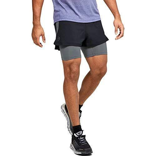 """<p><strong>Under Armour</strong></p><p>amazon.com</p><p><strong>$70.00</strong></p><p><a href=""""https://www.amazon.com/dp/B084CMJTNX?tag=syn-yahoo-20&ascsubtag=%5Bartid%7C2139.g.26286782%5Bsrc%7Cyahoo-us"""" rel=""""nofollow noopener"""" target=""""_blank"""" data-ylk=""""slk:Shop Now"""" class=""""link rapid-noclick-resp"""">Shop Now</a></p><p>Don't worry about a separate set of compression shorts for this lightweight pair of runners from Under Armour—the lining is built-in. Even better, the <a href=""""https://www.menshealth.com/technology-gear/a27010559/pro-athlete-training-under-armour-rush/"""" rel=""""nofollow noopener"""" target=""""_blank"""" data-ylk=""""slk:RUSH material"""" class=""""link rapid-noclick-resp"""">RUSH material</a> is infused with minerals, which the company claims can help to boost your endurance. </p>"""