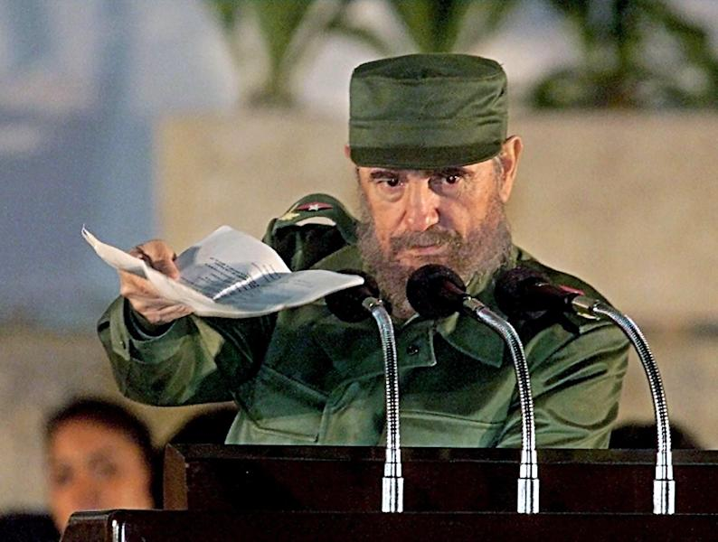 One of the world's longest-serving rulers and modern history's most singular characters, Cuba's former president Fidel Castro died aged 90 in Havana on Friday (AFP Photo/Adalberto Roque)