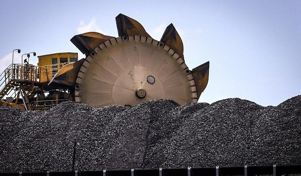 Coal is seen at the Port of Newcastle in New South Wales, Australia. Photo: Bloomberg