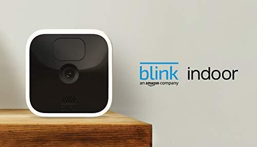 Blink Indoor – wireless, HD security camera with two-year battery life, motion detection, and…