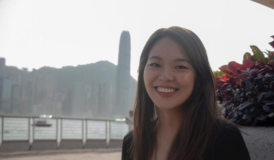 Elaine Soh Hong Yuan, a Singaporean film graduate from HKBU, was hoping her family and friends would be able to come for her graduation. Photo: Handout