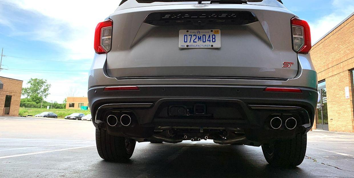 What's Up with the 2020 Ford Explorer ST's Innovative