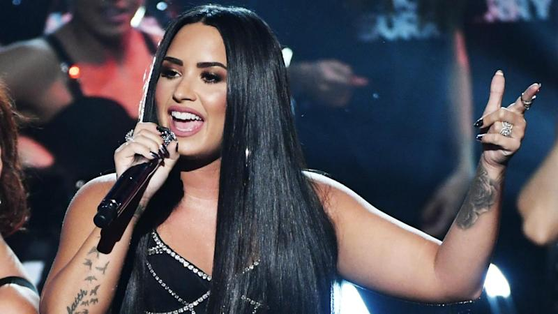 Demi Lovato Puts Her Twitter Haters on Blast in Epic American Music Awards Performance -- Watch!