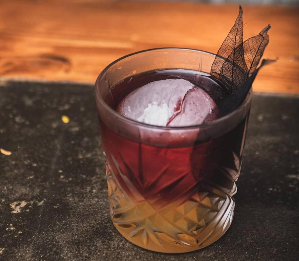 The Red Desert does not involve any insects, just mezcal, syrup, OJ and red wine. But you can order scorpion or cricket or worm infused shots if you want.