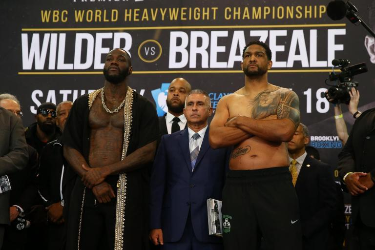 Deontay Wilder vs Dominic Breazeale fight LIVE: Stream details, boxing updates, point scoring, undercard action
