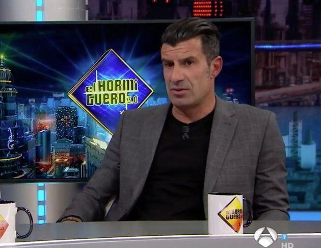 Luis Figo. (Photo: El Hormiguero)