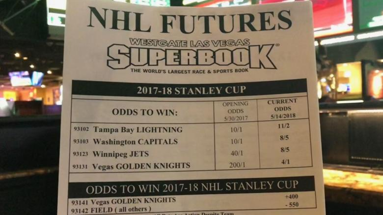 Beating the odds in Vegas: Former Winnipegger's bets on Jets, Golden Knights may just pay off