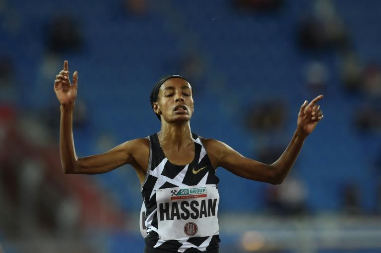 Hassan smashes European 10,000m record at Hengelo