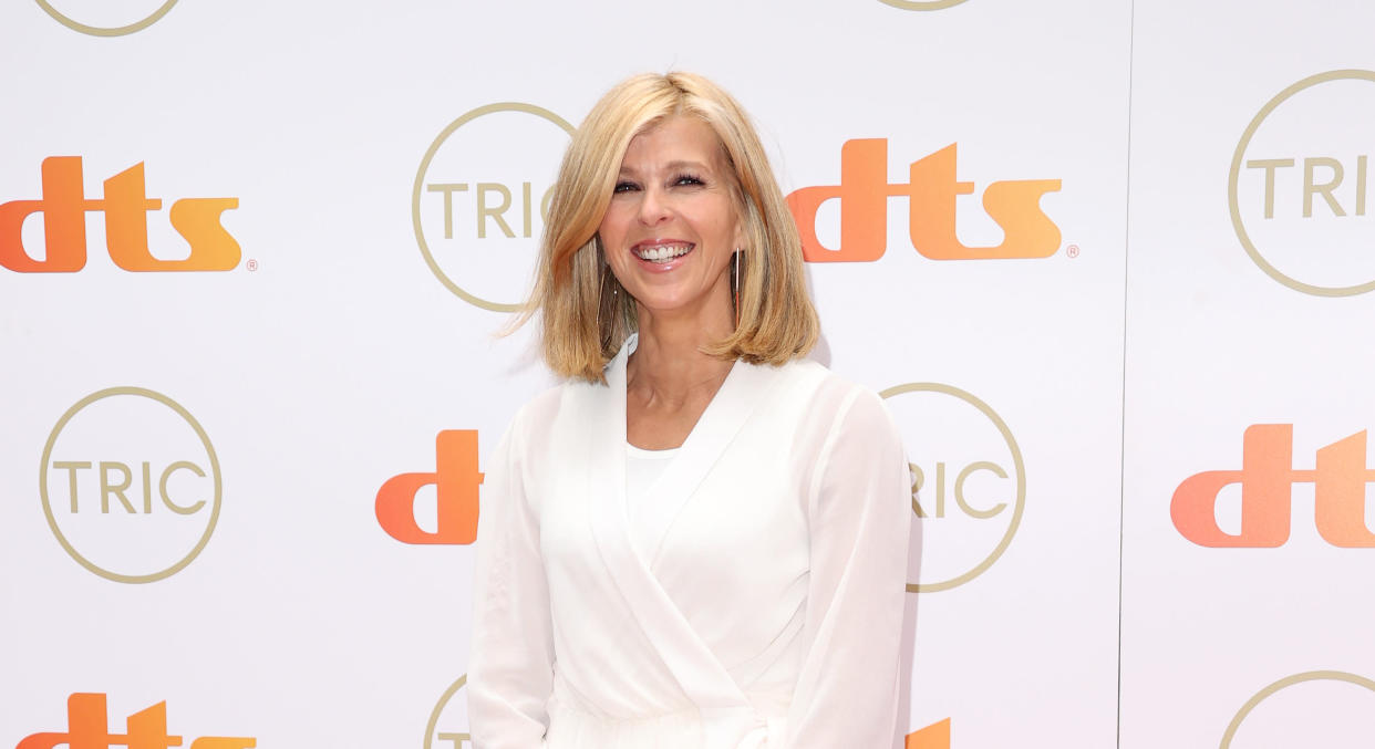 Kate Garraway has been open about her husband Derek Draper's long recovery from Covid-19. (Getty Images)