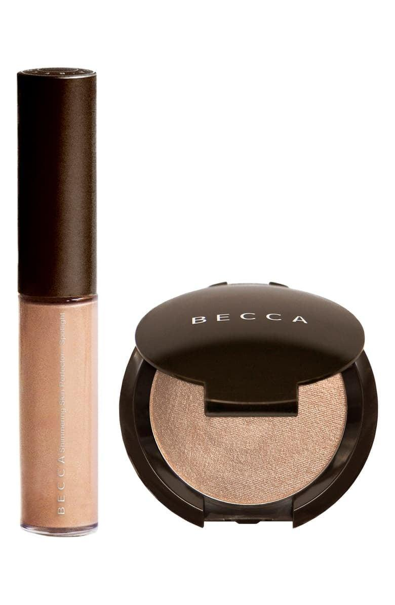 <p>The <span>BECCA Glow on the Go Highlighter Set</span> ($20) is the perfect stocking stuffer for those who love to glow.</p>