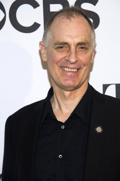 "FILE - This May 1, 2013 file photo shows Keith Carradine at the 2013 Tony Awards Meet the Nominees press reception in New York. Carradine is nominated for a Tony Award for best performance in a featured role for ""Hands on a Hardbody."" (Photo by Charles Sykes/Invision/AP, file)"