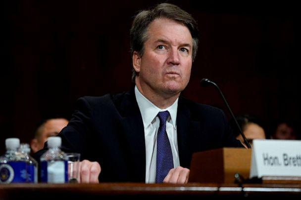 PHOTO: Supreme court nominee Brett Kavanaugh testifies before the Senate Judiciary Committee on Capitol Hill in Washington, D.C. on Sept. 27, 2018. (Andrew Harnik/Pool via AFP/Getty Images)