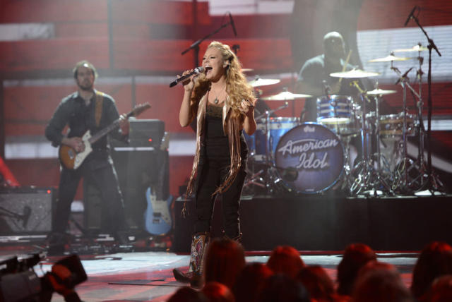 "Janelle Arthur performs Billy Joel's ""You May Be Right"" on the Wednesday, April 3 episode of ""American Idol."""