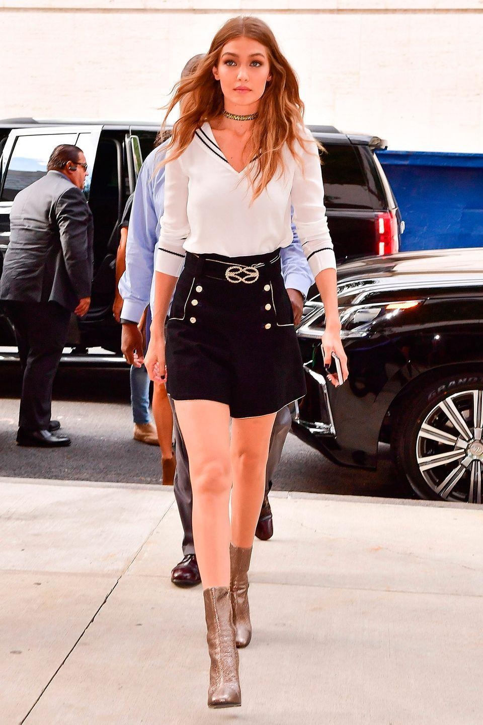 <p>Don't pack away your ankle-boots just yet. Spring in Britain does not always spell sandals – and skirts and dresses can look just as stylish with the right pair of boots.</p>