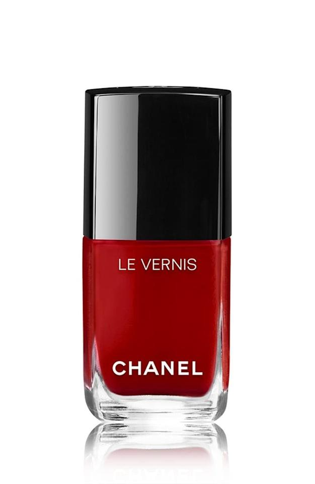 """<p><a href=""""https://www.popsugar.com/buy/Chanel-Le-Vernis-Longwear-Nail-Colour-Pirate-483745?p_name=Chanel%20Le%20Vernis%20Longwear%20Nail%20Colour%20in%20Pirate&retailer=shop.nordstrom.com&pid=483745&price=28&evar1=bella%3Aus&evar9=46794270&evar98=https%3A%2F%2Fwww.popsugar.com%2Fbeauty%2Fphoto-gallery%2F46794270%2Fimage%2F46794277%2FChanel-Le-Vernis-Longwear-Nail-Colour-in-Pirate&list1=beauty%20products%2Cnail%20polish%2Cbeauty%20trends&prop13=api&pdata=1"""" rel=""""nofollow"""" data-shoppable-link=""""1"""" target=""""_blank"""" class=""""ga-track"""" data-ga-category=""""Related"""" data-ga-label=""""https://shop.nordstrom.com/s/chanel-le-vernis-longwear-nail-colour/4296192?origin=keywordsearch-personalizedsort&amp;breadcrumb=Home%2FAll%20Results&amp;color=713%20pure%20black"""" data-ga-action=""""In-Line Links"""">Chanel Le Vernis Longwear Nail Colour in Pirate</a> ($28)</p>"""
