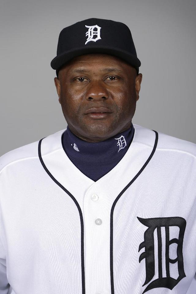 In this Feb. 19, 2013, photo, Detroit Tigers hitting coach Lloyd McClendon poses for a photo during baseball spring trainng. The Seattle Mariners have hired McClendon to be their next manager. The Mariners announced their decision on Tuesday, Nov. 5. McClendon becomes the third manager hired by general manager Jack Zduriencik. McClendon will be formally introduced by the team later this week. (AP Photo/Charlie Neibergall)
