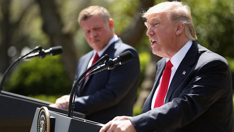 Trump: Syria chemical attack crossed 'many, many lines'