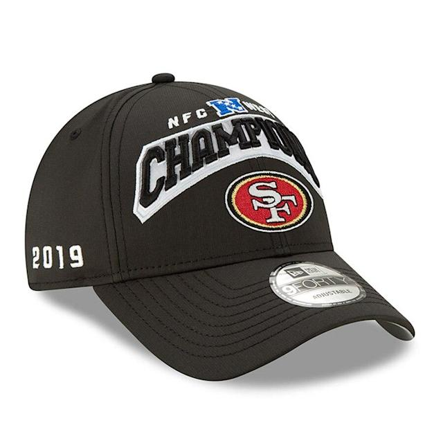 49ers 2019 NFC West Division Champions Hat