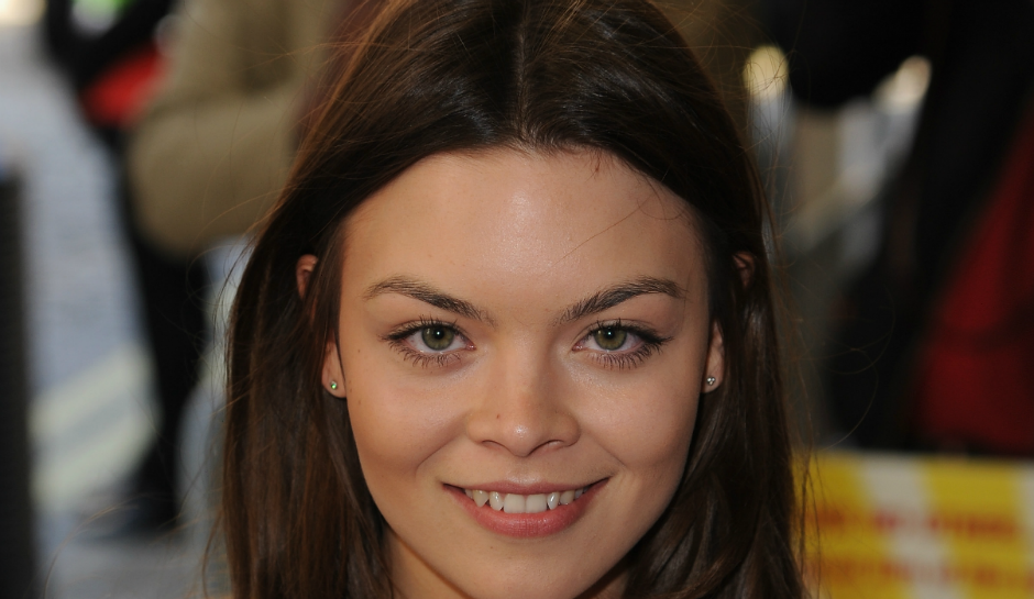 Scarlett Byrne bares it all; Harry Potter actress strips