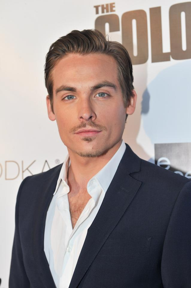 "TORONTO, ON - APRIL 03:  Actor Kevin Zegers attends ""The Colony"" - Toronto Premiere at Scotiabank on April 3, 2013 in Toronto, Canada.  (Photo by George Pimentel/Getty Images)"