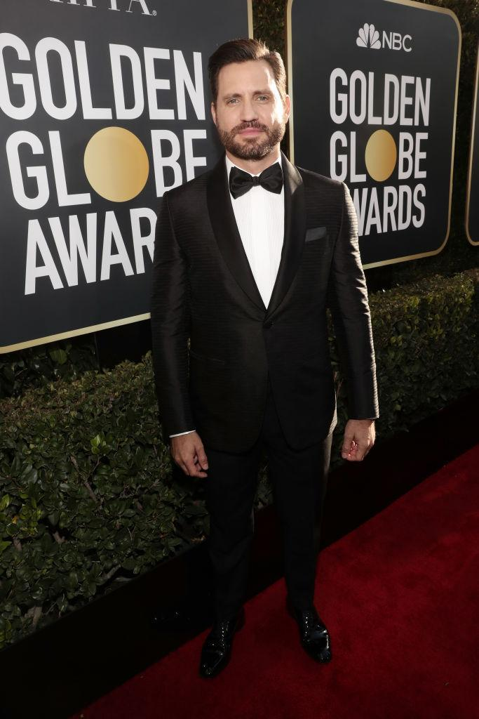 <p>Edgar Ramirez attends the 76th Annual Golden Globe Awards at the Beverly Hilton Hotel in Beverly Hills, Calif., on Jan. 6, 2019. (Photo: Getty Images) </p>
