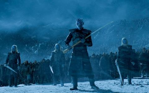 Valyrian steel is needed to defeat the Night King and the White Walkers - Credit: HBO