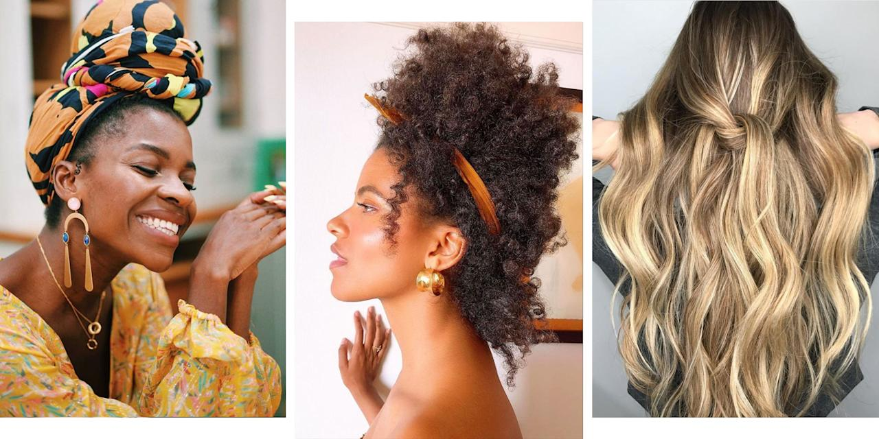 <p>If staying in bed an extra half an hour is more tempting than  blow drying and styling your hair, we totally get it. Which is why we've rounded up 15 of the easiest hairstyles to make your co-workers wonder how you look well rested AND put together while they're clinging onto that coffee. </p><p>Whatever your hair type, length, or (more importantly) ability, we've got the top knot, hair accessory, or sleek bun to suit you. <br></p><p>Extra sleep plus extra style…sold!</p>