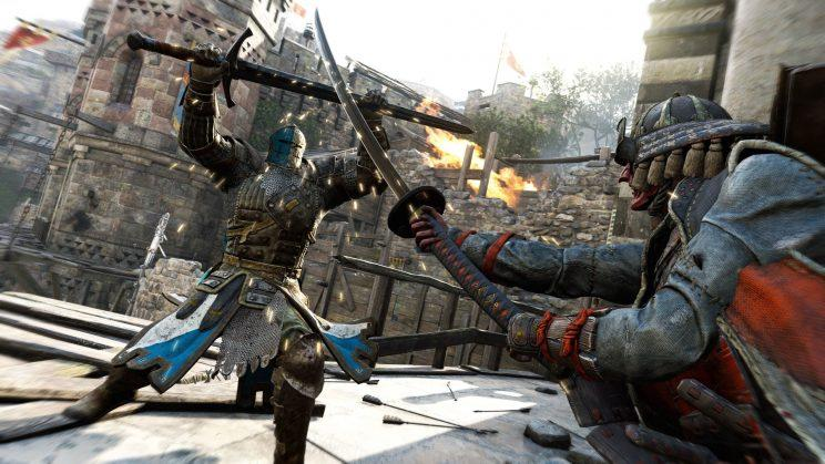 For Honor 1-on-1 fight.