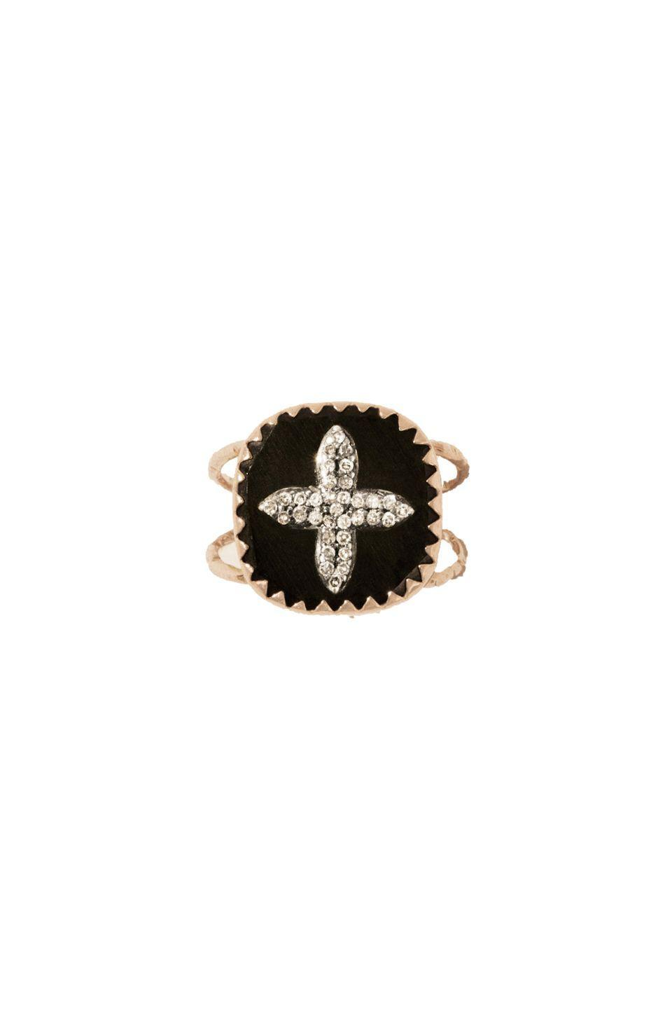 """<p>Gold and diamond ring, about £518, <a href=""""https://pascalemonvoisin.com/en/rings/211-2263-bowie-n2-horn-diamond.html#/37-taille-6"""" rel=""""nofollow noopener"""" target=""""_blank"""" data-ylk=""""slk:Pascale Monvoisin"""" class=""""link rapid-noclick-resp"""">Pascale Monvoisin</a><br><br><a class=""""link rapid-noclick-resp"""" href=""""https://pascalemonvoisin.com/en/rings/211-2263-bowie-n2-horn-diamond.html#/37-taille-6"""" rel=""""nofollow noopener"""" target=""""_blank"""" data-ylk=""""slk:SHOP NOW"""">SHOP NOW</a></p>"""