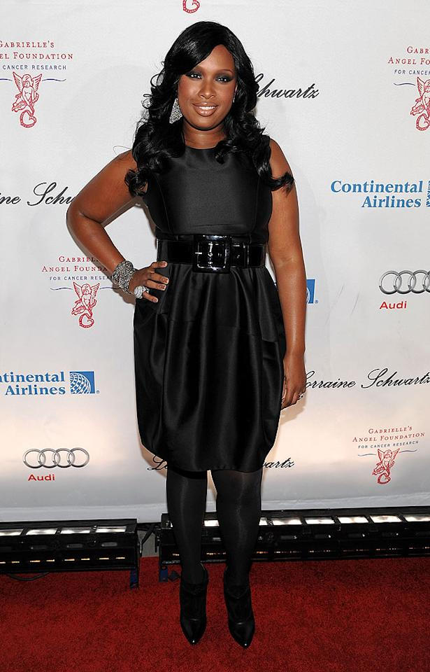 "New mom Jennifer Hudson has been hitting red carpets lately, but she spends most of her time with son David Daniel Otunga Jr., who was born in August. ""He's the cutest thing in the world,"" the singer told <i>People.</i> ""He's working on turning over."" Dimitrios Kambouris/WireImage.com To license this image (58696569), contact WireImage.com"