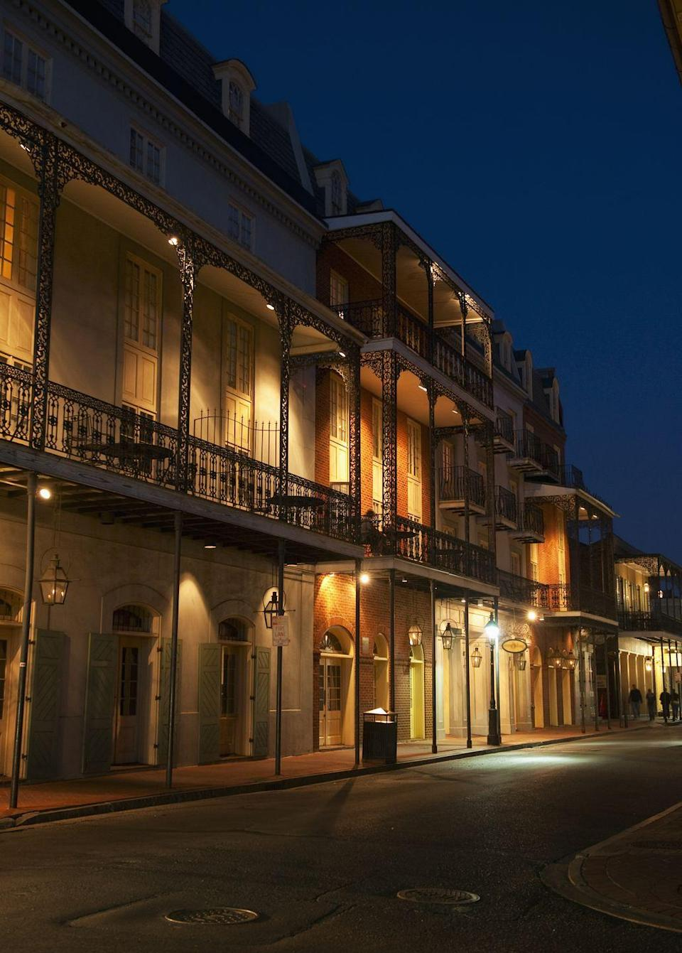 """<p>New Orleans has a history filled with voodoo, vampires, ghosts, and witches, and on this 90-minute tour through the city's historic French Quarter, you'll learn all about the freaky folklore surrounding life in the Big Easy. </p><p><a class=""""link rapid-noclick-resp"""" href=""""https://go.redirectingat.com?id=74968X1596630&url=https%3A%2F%2Fwww.tripadvisor.com%2FAttractionProductReview-g60864-d11453064-New_Orleans_1_Haunted_Ghost_Voodoo_Vampire_Tour-New_Orleans_Louisiana.html&sref=https%3A%2F%2Fwww.redbookmag.com%2Flife%2Fg37623207%2Fghost-tours-near-me%2F"""" rel=""""nofollow noopener"""" target=""""_blank"""" data-ylk=""""slk:LEARN MORE"""">LEARN MORE</a></p>"""