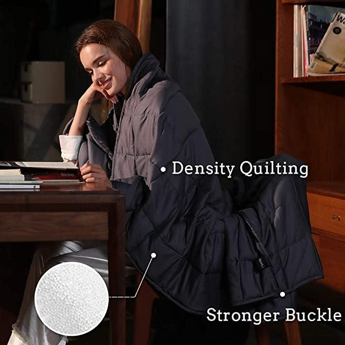"""<p>A weighted blanket that doesn't get too hot? Sign us up for this <a href=""""https://www.popsugar.com/buy/ZonLi-Cooling-Weighted-Blanket-557394?p_name=ZonLi%20Cooling%20Weighted%20Blanket&retailer=amazon.com&pid=557394&price=56&evar1=fit%3Aus&evar9=47315539&evar98=https%3A%2F%2Fwww.popsugar.com%2Ffitness%2Fphoto-gallery%2F47315539%2Fimage%2F47315541%2FZonLi-Cooling-Weighted-Blanket&list1=shopping%2Camazon%2Cstress%20relief%2Canxiety%2Chealthy%20living&prop13=mobile&pdata=1"""" rel=""""nofollow"""" data-shoppable-link=""""1"""" target=""""_blank"""" class=""""ga-track"""" data-ga-category=""""Related"""" data-ga-label=""""https://www.amazon.com/ZonLi-Weighted-Blanket-Cooling-180-220/dp/B075W9VSW7/ref=sr_1_5?crid=3P9Y206QPK7FC&amp;keywords=weighted%2Bblanket&amp;qid=1584467282&amp;sprefix=weighted%2Bb%2Caps%2C224&amp;sr=8-5&amp;th=1"""" data-ga-action=""""In-Line Links"""">ZonLi Cooling Weighted Blanket</a> ($56, originally $66).</p>"""