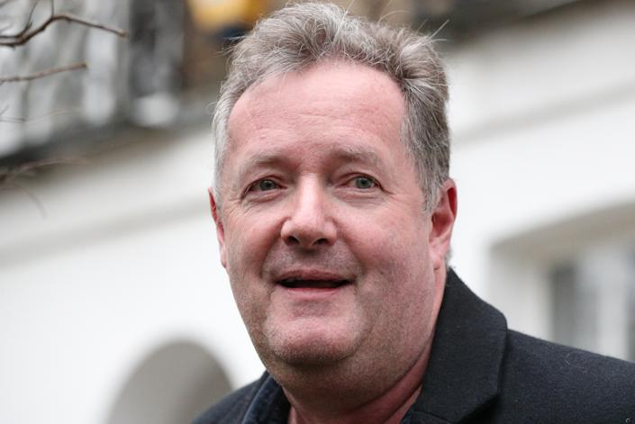 File photo dated 10/03/21 of Piers Morgan who returned to the Good Morning Britain studio on Wednesday to clear out his office after quitting the show earlier this month. Issue date: Wednesday March 24, 2021.