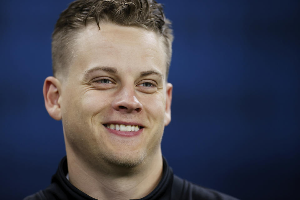 Joe Burrow put together one of the best college seasons of all time while showing projectable skills that bode well for his future in an NFL offense. (Joe Robbins/Getty Images)