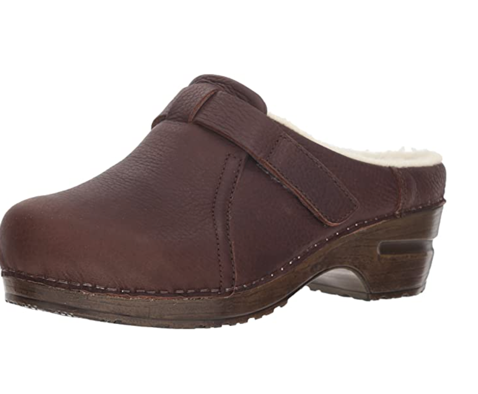 "<br><br><strong>Sanita</strong> Whitney Clog, $, available at <a href=""https://www.amazon.com/Sanita-Womens-Whitney-Clog/dp/B079FYLDHY"" rel=""nofollow noopener"" target=""_blank"" data-ylk=""slk:Amazon"" class=""link rapid-noclick-resp"">Amazon</a>"