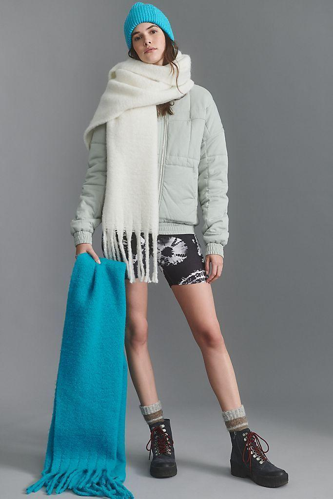 """<p><strong>Anthropologie</strong></p><p>anthropologie.com</p><p><strong>$48.00</strong></p><p><a href=""""https://go.redirectingat.com?id=74968X1596630&url=https%3A%2F%2Fwww.anthropologie.com%2Fshop%2Fbonnie-fringed-wrap-scarf&sref=https%3A%2F%2Fwww.womansday.com%2Flife%2Fg24378973%2Fbest-gifts-for-boss%2F"""" rel=""""nofollow noopener"""" target=""""_blank"""" data-ylk=""""slk:Shop Now"""" class=""""link rapid-noclick-resp"""">Shop Now</a></p><p>If your office is always inexplicably cold — and isn't it always? — your boss will practically live in this cozy scarf. Teetering on the size of a blanket, this 100% polyester, fringe-detailed scarf will be the perfect office accessary year round.</p>"""