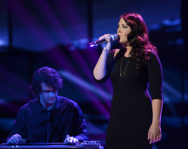 "Kree Harrison performs ""Help Me Make It Through the Night"" on the Wednesday, April 10 episode of ""American Idol."""