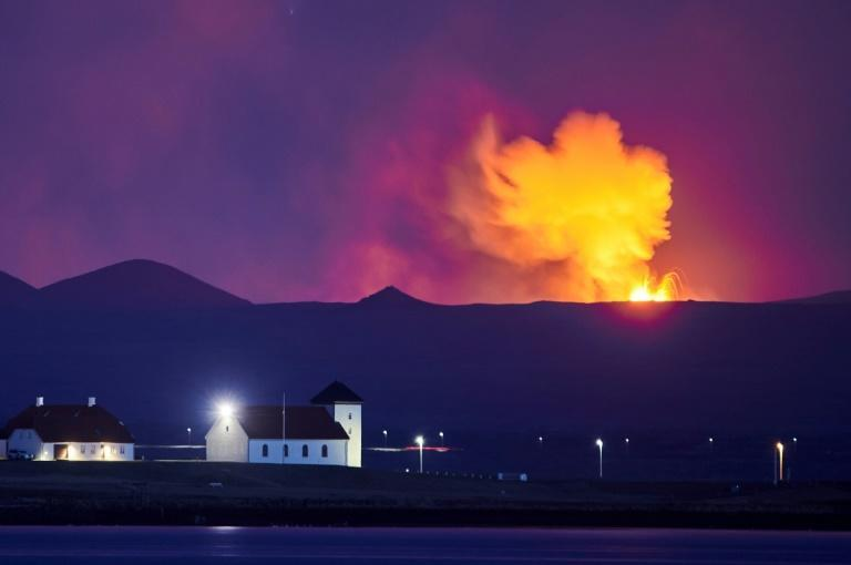 The volcanic activity is now alternating between quiet spells and furious outbursts, drawing awe-struck onlookers