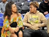 <p>When they're not out conquering tennis and music, the two enjoy basketball games, including this 2019 game in L.A. between the Los Angeles Clippers and Washington Wizards.</p>