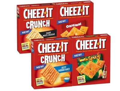 Kellogg Canada Inc. introduces Cheez-It* Baked Snack Crackers to Canada (CNW Group/Kellogg Canada Inc.)