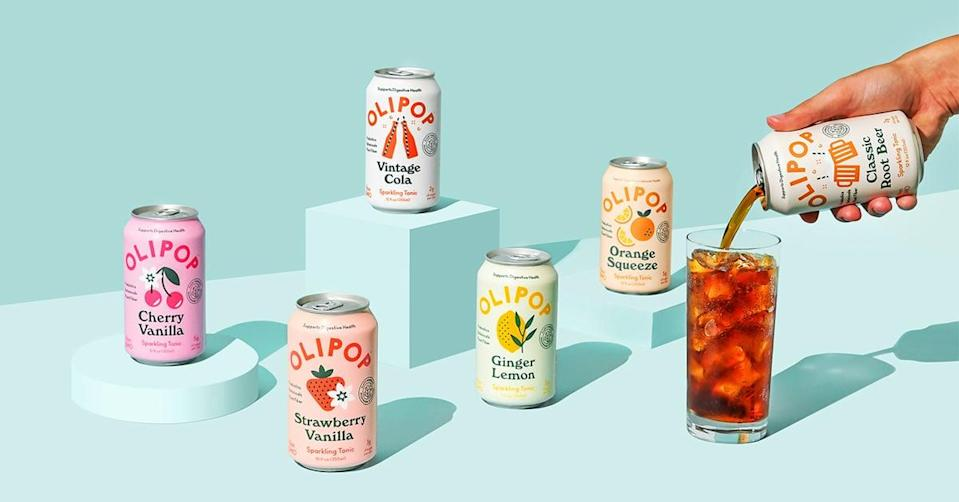 <p>This <span>Olipop</span> ($39 for 12) variety pack features six classic flavors we love but without the high sugar and calories. In fact, Olipop is a prebiotic that supports digestive health and gut health with plant fibers and botanicals.</p>