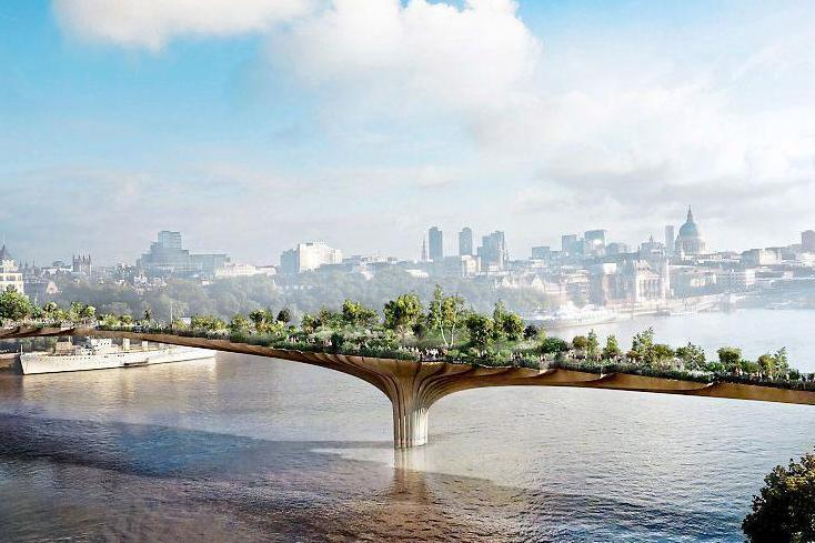 A bridge too far for the Mayor: Sadiq Khan has scrapped the controversial plan