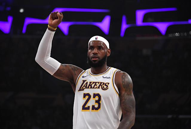 Even a real-life star like Lebron James is subject to matchup-based roster decisions in DFS. Mandatory Credit: Kirby Lee-USA TODAY Sports