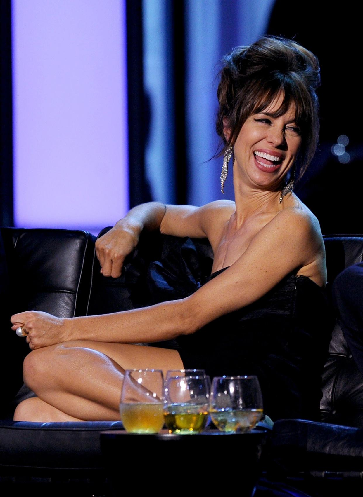 CULVER CITY, CA - AUGUST 25: Actress Natasha Leggero onstage during The Comedy Central Roast of James Franco at Culver Studios on August 25, 2013 in Culver City, California. The Comedy Central Roast Of James Franco will air on September 2 at 10:00 p.m. ET/PT. (Photo by Kevin Winter/Getty Images for Comedy Central)
