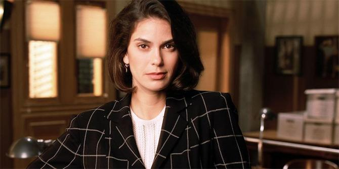 Teri Hatcher como Lois Lane.